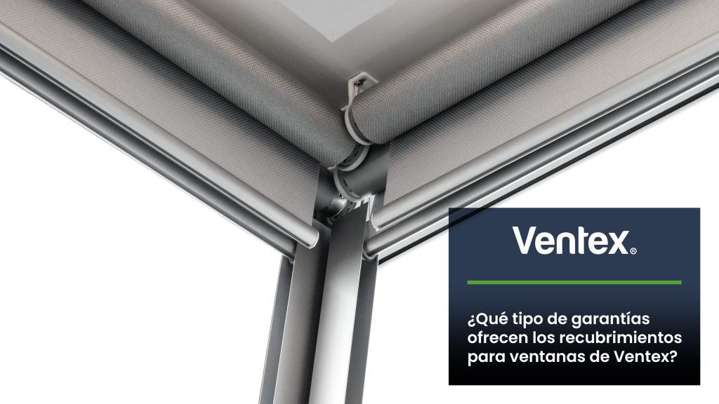 What kind of warranty do Ventex window coverings offer?